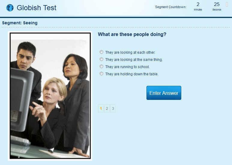 Globish Full Test