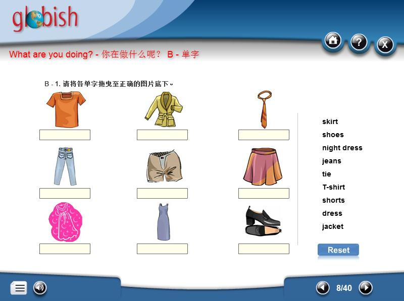 Globish Modules in Chinese / 在线学习课程简体中文版
